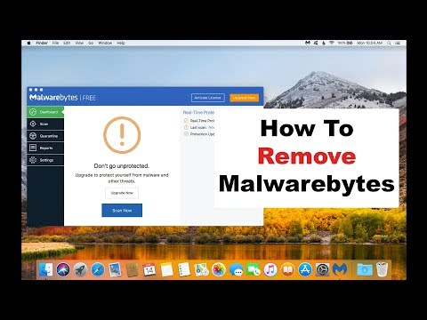 How To Uninstall Malwarebytes On A Mac