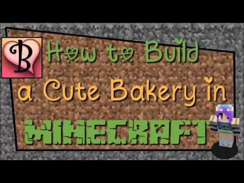 How to Build a Cute Bakery in Minecraft ♡