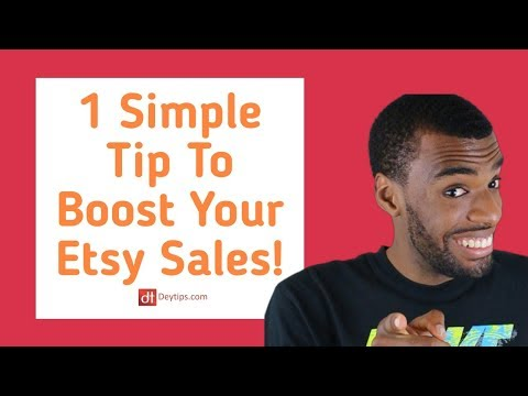 How to increase etsy sales with aweber etsy intergration