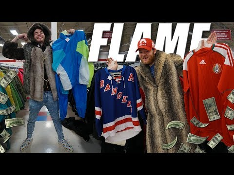 Trip to the Thrift #211 | NIKE JUMPSUITS, TRIPLE FURS, & BAPE BRUH?!