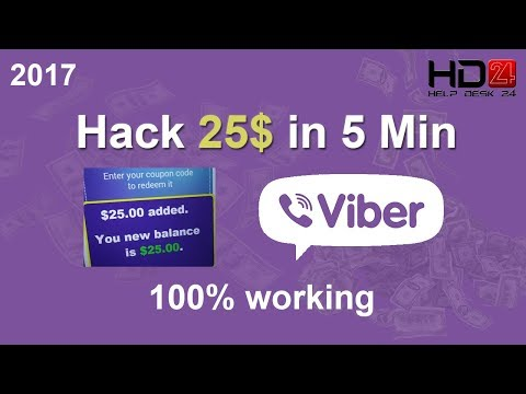 Earn 25$ for out going call in Viber within 5 minute | Hack Viber | HD
