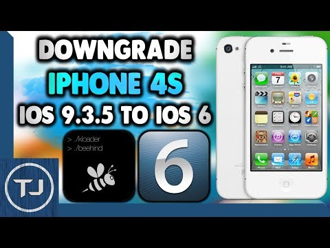 Downgrade iPhone 4S iOS 9.3.5 To iOS 6.1.3 (Easy!) [2017]