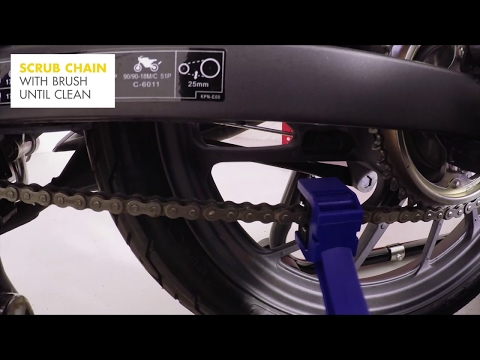 How to lubricate a motorcycle chain | Shell Motoring Tips