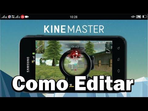 😎Free Fire como editar vídeo com Facecam Pelo Celular