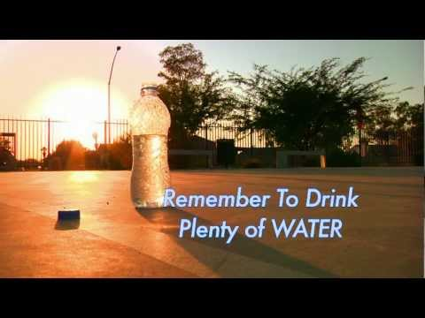 Hydrate/ Drink Water PSA (Public Service Announcement)