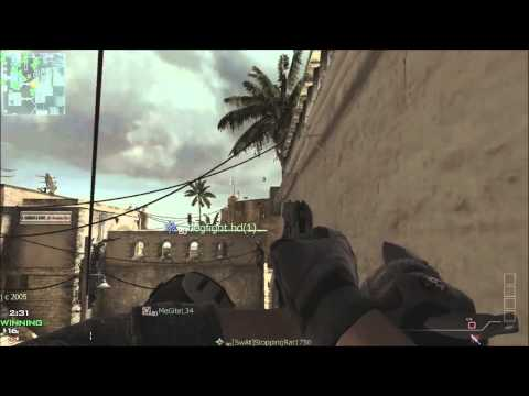 MW3 throwing knives! (montage)