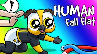Human Fall Flat Funny Moments - Toddler Supervision and Coal Delivery!