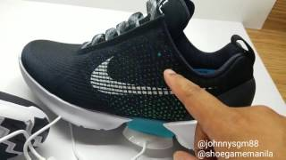 Nike HyperAdapt Complete Unboxing and Test ...