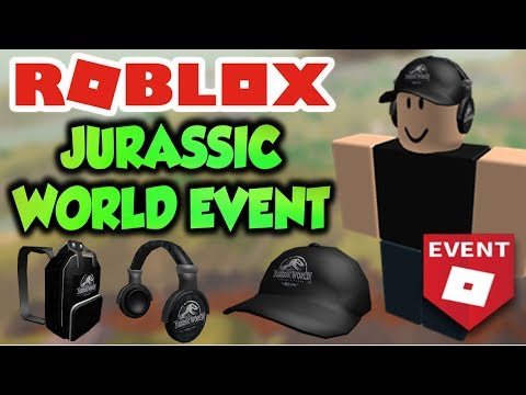 Get ALL ITEMS On Jurassic World Event! (Roblox Event)