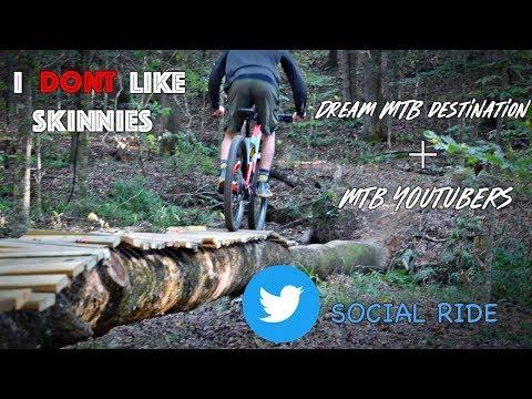 Dream MTB Destination? + MTB Youtubers I'm Enjoying | Social Ride at Chewacla State Park
