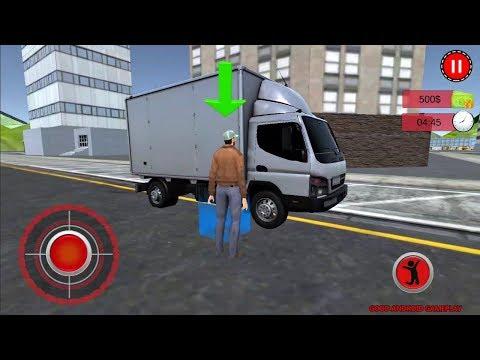 Bank Cash-In-Transit Security Van Simulator 2018 Android GamePlay FHD