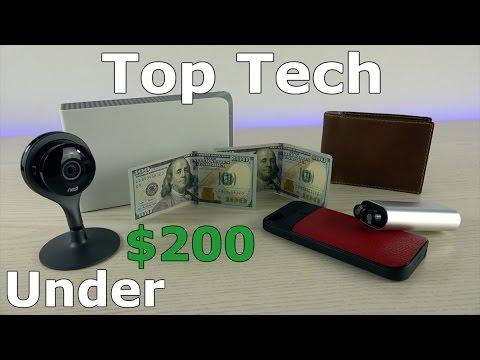 Top Tech Under $200