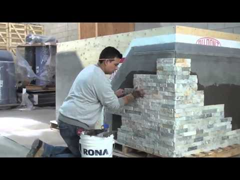 How to Install ErthCOVERINGS Natural Stone Panels