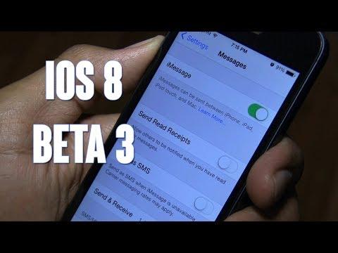 iOS 8 Beta 3 Updates!