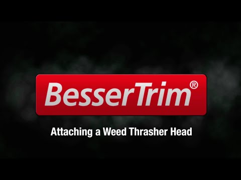 Attaching a Weed Thrasher Head