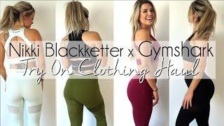 f6f9dc3577dab Nikki Blackketter X GymShark Try On & In Depth Review | Music Jinni