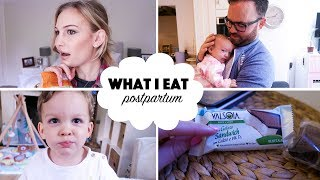 What I Eat in A Day! | Postpartum + Breastfeeding