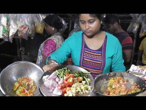 Making Egg Chicken Pasta | I am Sure The Taste Can Beat Any Costly Restaurant | Street Food India
