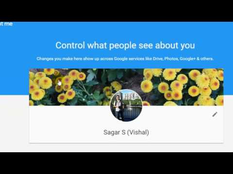 How to change the profile first name and display name in Google plus