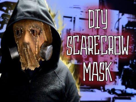 DiY Scarecrow mask Gotham Batman Arkham Knight