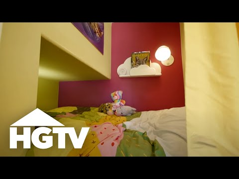 Built-In Bunk Beds - HGTV