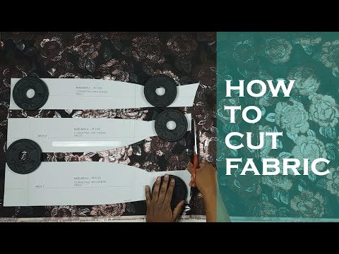 Cutting Fabric with Weights