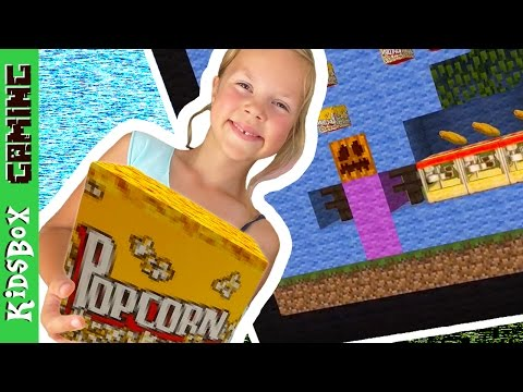 GHOST STORY - Popcorn Stand and Outdoor Movie Theater  ❑  Minecraft PE