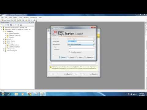 SQL Server DBA - Snapshot Replication with Simple steps