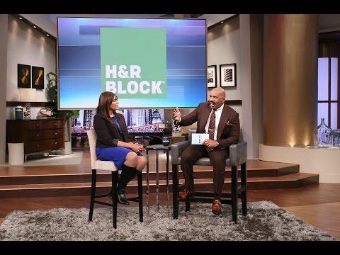 H&R Block Refund Advance    STEVE HARVEY