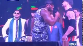 Wrestler Arrival in Lahore