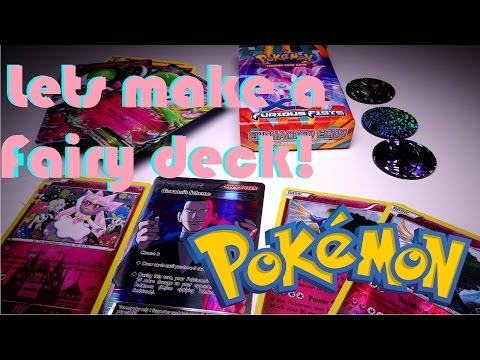 Pokemon - Lets build a fairy deck! + 3000 Subscriber giveaway