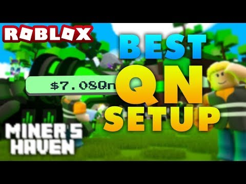 Miners Haven: BEST QN SETUP (ONLY SHOP ITEMS) (FAST & EASY)