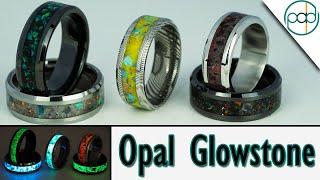 Making 5 Opal Glowstone Rings