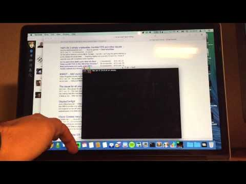 Mission Control lag 240 fps on MacBook Pro Retina Display with OS X Yosemite 10.10.2