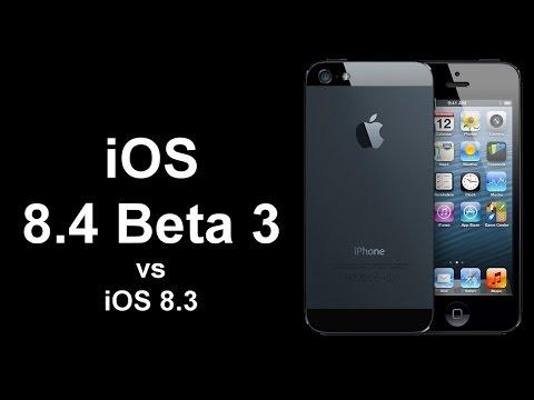 iOS 8.3 vs iOS 8.4 Beta 3 on iPhone 5 - Speed test
