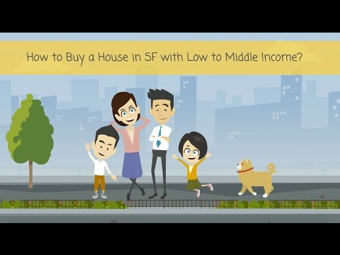 How to buy a house in San Francisco with low to middle income - Below Market Rate - BMR