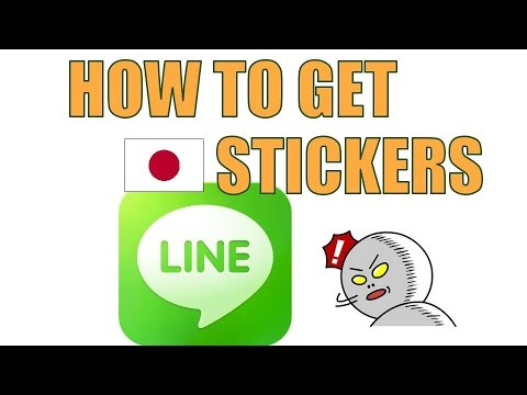 how to get Japanese LINE Stickers
