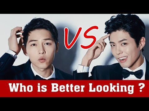 Park Bo Gum VS Song Joong ki Who is better looking?