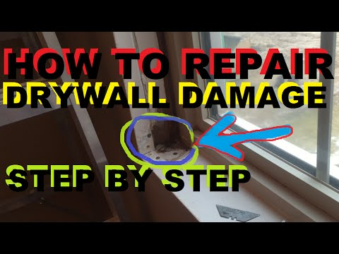 How To Repair Drywall Damage Step-By-Step part 2 of 3