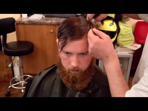 long top short sides haircut men / men haircut tutorial 2016