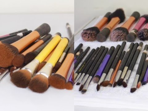 How to Clean and Disinfect your Makeup brushes •| Poised by Suliat