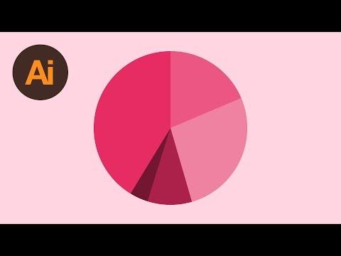 Learn How to Draw a Pie Chart in Adobe Illustrator | Dansky
