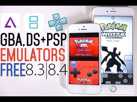 How To Install GBA4iOS, PSP & NDS Emulator FREE on iOS 8.3 & 8.4 No Jailbreak