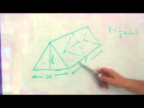 How to Calculate the Volume of a Triangular Prism