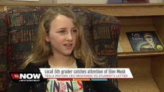 5th grader catches Elon Musk