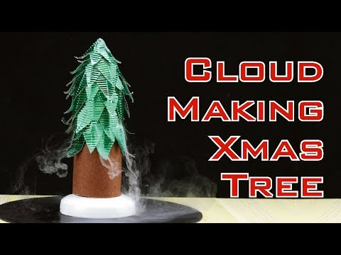 How to Make Cloud Making Christmas Tree with Coke Bottle