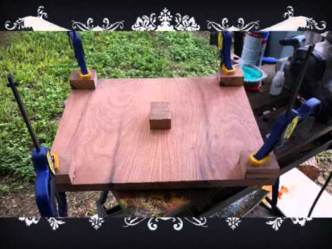 THE MAKING OF A MESQUITE CUTTING BOARD
