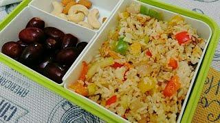 10 മിനുട്ട് കൊണ്ട് കുട്ടികൾക്കു ലഞ്ച് റെഡി /Easy fried rice /Kids tiffin box recipes