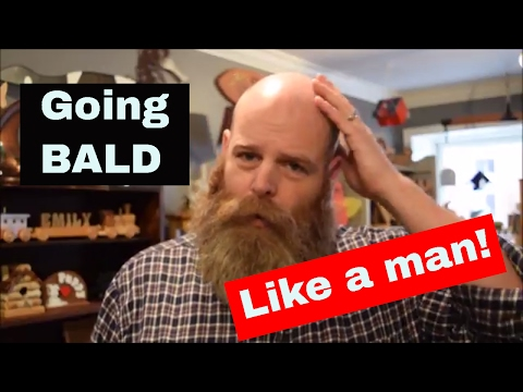 How to go bald with style and dignity