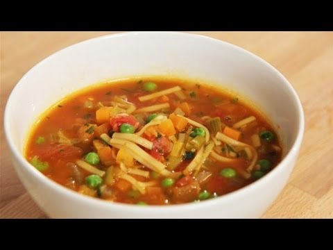 How To Make A Veg Packed Minestrone Soup: The Lighter Option